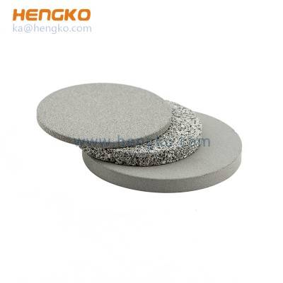 Customized sintered powder porosity SS 316L stainless steel filter disc, 0.2 5 μm 7 10 15 20 30 40 50 70 90 microns used for water and liquid filtration