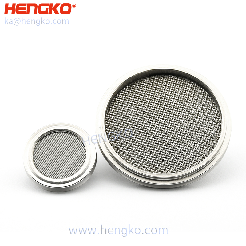 5 10 30 40 microns medical level powder sintering stainless steel 316L inline filter for the O2 circuit ventilator filter Featured Image