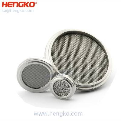 Wholesale medical grade various  micron stainless steel 316 SS wire mesh disc/tube/plate filter used for medical pharmaceutical filtration