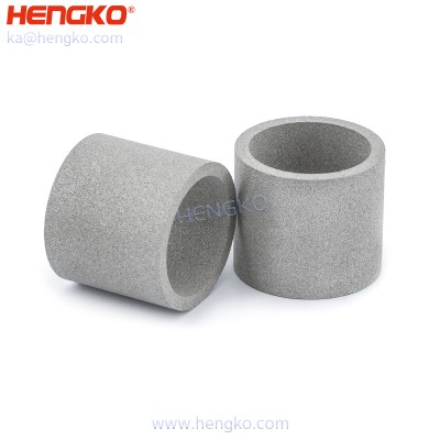 40-50 um micron pore grade sintered porous metal SS stainless steel filter tube