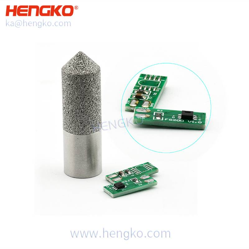 HENGKO SHT series PCB double-sided circuit switch board for weatherproof stainless steel high temperature and relative humidity sensor probe Featured Image