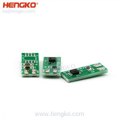 HENGKO SHT series PCB double-sided circuit switch board for handheld temperature and relative humidity sensor