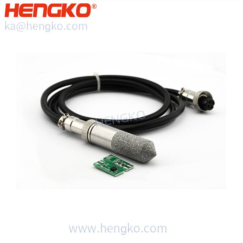 China Supplier Hydrogen Sulphide Gas Sensor - HENGKO Industrial high pressure low humidity dew point transmitter – waterproof stainless steel sensor probe enclosure – HENGKO detail pictures
