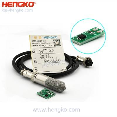 Hengko 4 20ma analog sintered stainless SHT15 waterproof high-temperature humidity sensor module board pcb chips SHT series for incubating eggs