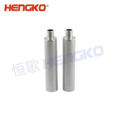 Factory price supply corrosion resistance microporous porosity sintered metal stainless steel material cartridge filter element for filter gas