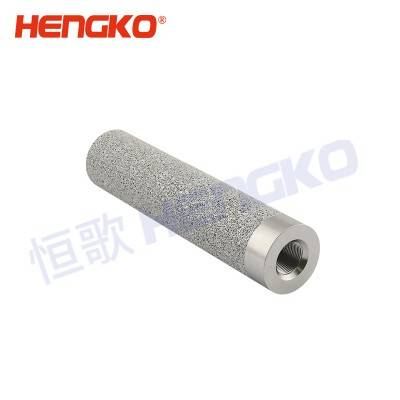 Custom sintered porous metal 2 5 10 20 25 microns stainless steel 304/316L filter tube for industry or filter system