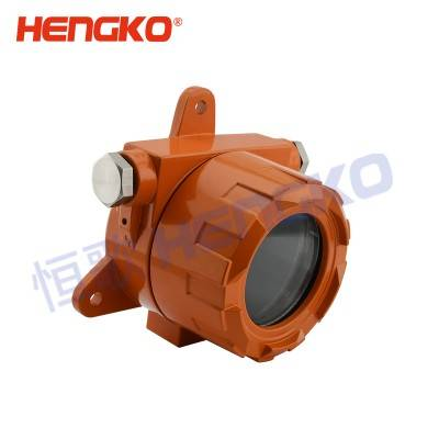 Chinese wholesale Portable Gas Leak Detector - Flame arrester sintered explosion-proof gas sensor enclosure for maximum poison protection – HENGKO