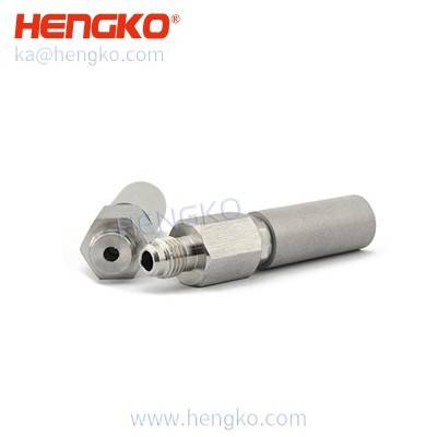 "Customized SHT11 1/4"" MFL 0.5 um stainless steel micro bubble aeration diffusion stone"
