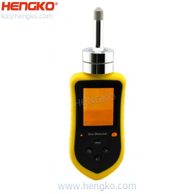 IP65 66 Protable combustible / toxic gas sensor detector gas sensor with stainless steel aluminum alloy explosion-proof enclosure , 10-95%RH Featured Image