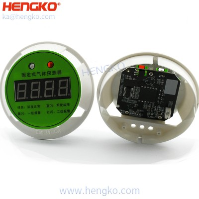 Consumable and toxic chlorine gas sensor detector systems safety device GN100-digital display used for chemical plants
