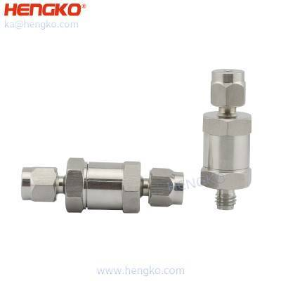Explosion-proof stainless steel gas safety device In-line flame arrester element valve,back fire relief valve for Oil-and-Gas Applications