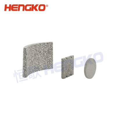 0.2 5 10 40 Micron porous sintered powder stainless steel 316L filter plate for chemical filter