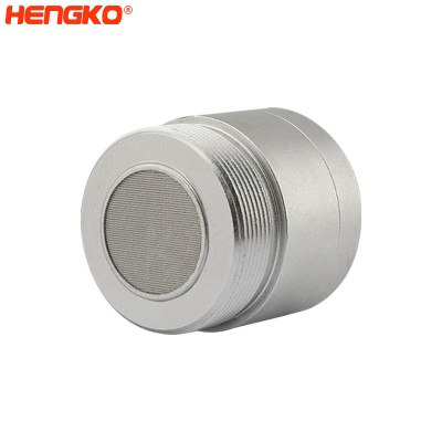 Explosion proof analog relay output sintered stainless steel probe carbon dioxide co2 gas sensor module housing for gas leak detector