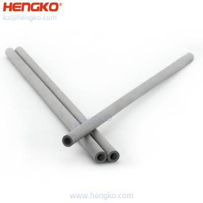 Sintered metal 316 stainless steel filter medical micro capillary tube for wave soldering/high-speed dispensing machine