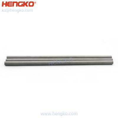 Sintered 0.5 7 10 15 30 60 micron porous metal stainless steel filter capillary tube for lead-free reflow oven