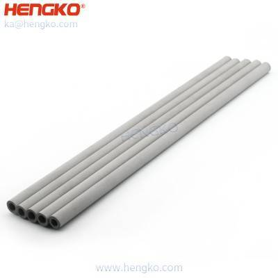 Industrial Grade 2 5 7 microns sintered porous stainless steel seamless filter tube for food and pharmaceutical industries