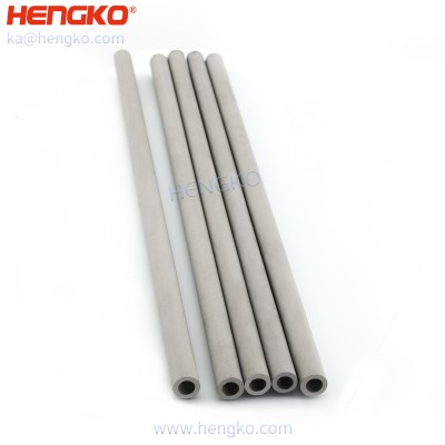 Wicking assemblies porous metal micro capillary filter tube for Thermal system heat pipes / liquid transport