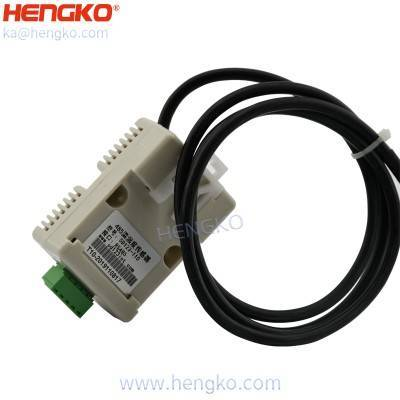 0-5V RS485 temperature and humidity sensor with IP67 waterproof granary humidity detector sensor housing