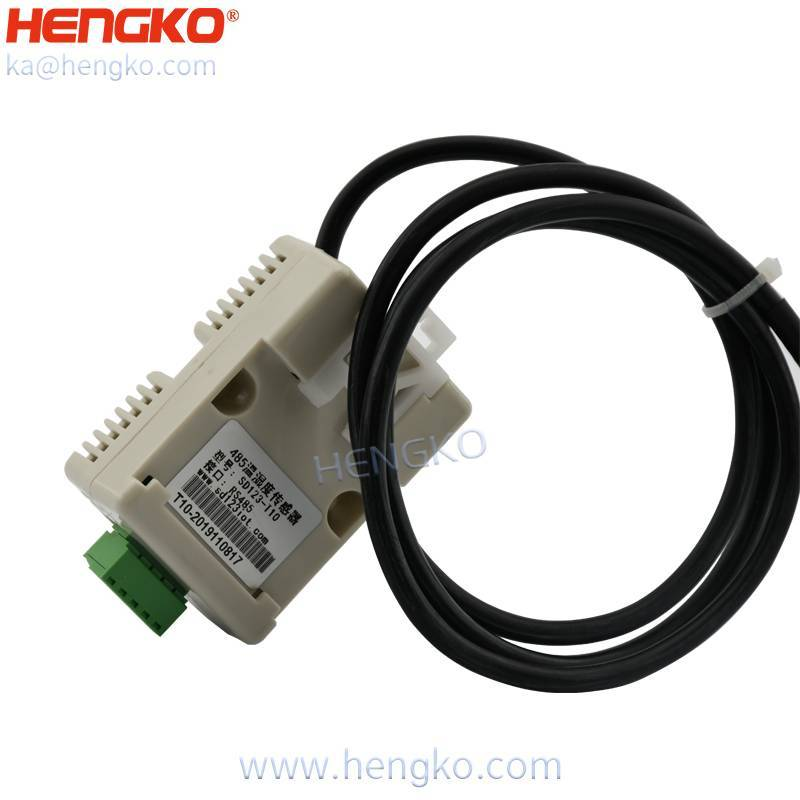 0-5V RS485 temperature and humidity sensor with IP67 waterproof granary humidity detector sensor housing Featured Image