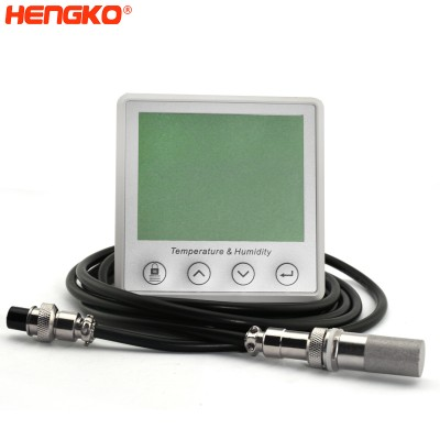 HENGKO's Smart Humidity and temperature, dew point, soil moisture sensor with stand-alone humidity probes