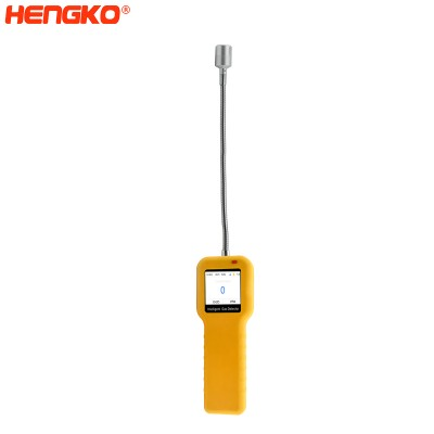Point type flammable handhold Combustible gas leak detection alarm Co2 sensor detector with stainless steel protective enclosure