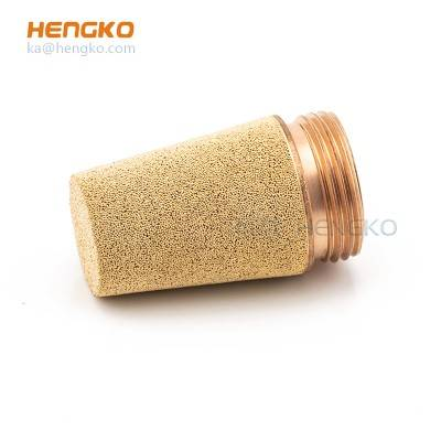 Factory Price For Stainless Steel Filter Cartridge - SC Series Pneumatic thread Exhaust Muffler/Silencer used for oil, gasoline or air – HENGKO