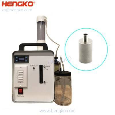 High benefit 10-15microns no welding porous metal sintered stainless steel bubble ( alkaline water ) diffusion sparger stone