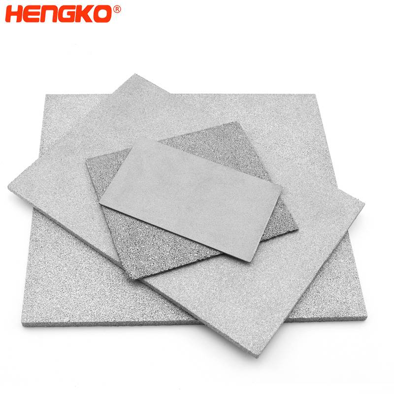 Corrosion resistant microns 316L stainless steel porous sintered filter sheet/plate for chemical industry, pharmaceutical industry Featured Image