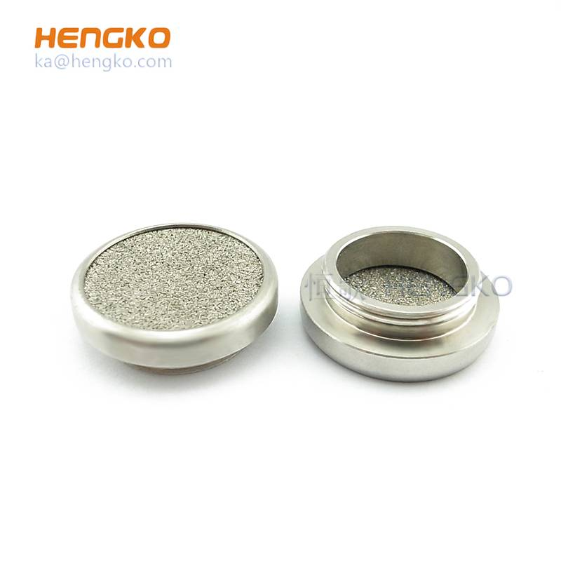 2 10 20 micron stainless steel 304/316L bronze sintered porous metal filters disc for industry filtration system Featured Image