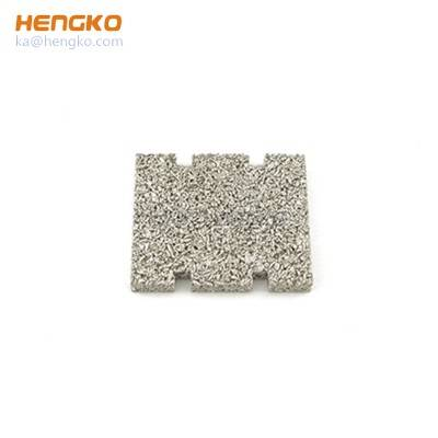 China manufacturer high efficiency sintered powder porous stainless steel metal plate filter used for micron-sized filtration application