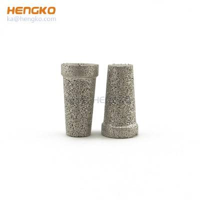 Sintered stainless steel 316L gas sparger porous metal air filter media