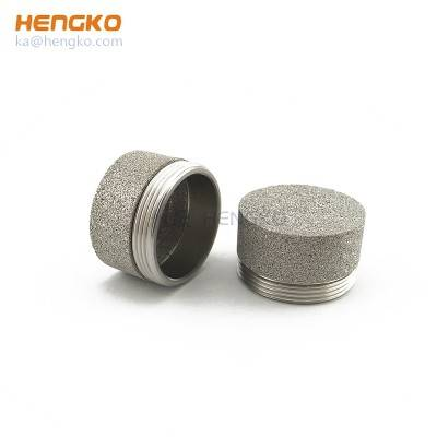 Special process sintering microns porous stainless steel filter elements