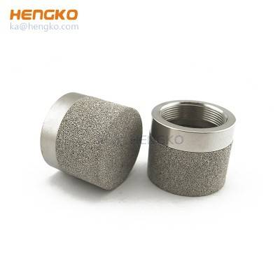 Custom 0.5 2 5 10 micron porous stainless steel 316L powder sintered filter for filtration system