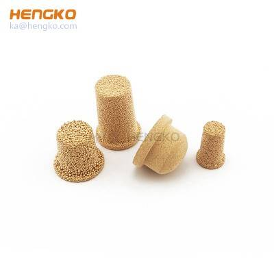 High porosity sintered metal micron replacement porous powder sintering bronze oil filter cylinder