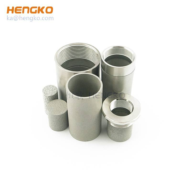 High porosity sinter porous metal stainless steel filter seamless tubes for Various flow control Featured Image