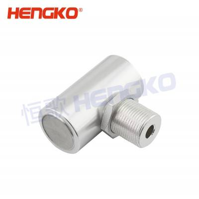 Good Quality Gas Leak Detector - Micron Porous Sintered Stainless Steel Explosion Proof Filter for Combustible Gas Detection Alarm – HENGKO