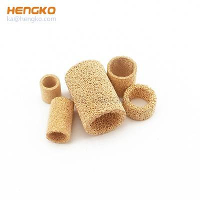 Medical Chemical Liquid oil and Gases 0.2 um-90 microns Powder Porous Sintered Metal Filter tube