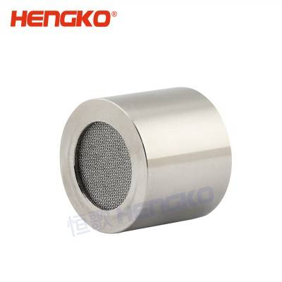 Good quality Catalytic Gas Detector - Explosion proof sintered metal filter protection covers housing for gas leak detector – HENGKO