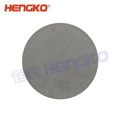Easy Clean Micron Porous SUS Sintered 316L Stainless Steel Inline Metal Round Filter Sheet/Plate