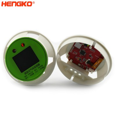 HENGKO anti explosion LP chlorine fixed gas detection instruments flame gas sensor detector display screen panel assembly for chemical plants