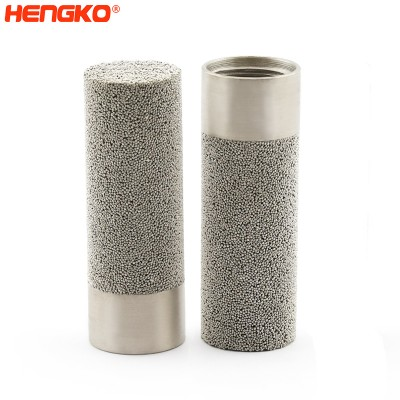 HK66MBN stainless steel porous humidity sensor housing – stainless steel sintered microns porous filter temperature humidity sensor guard