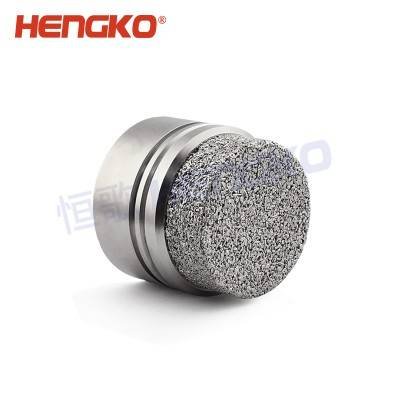 Single Toxic Gas Detector Sintered Metal Housing With Porous Powder Filter Element