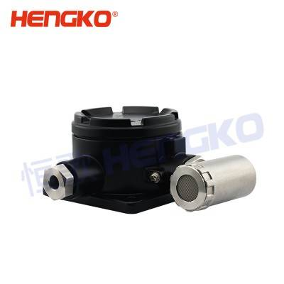 Manufacturer for Portable Methane Gas Detector - Sintered 316L stainless steel porosity pressure gas detector monitor sensor housing for catalytic combustible gas alarm sensor – HENGKO