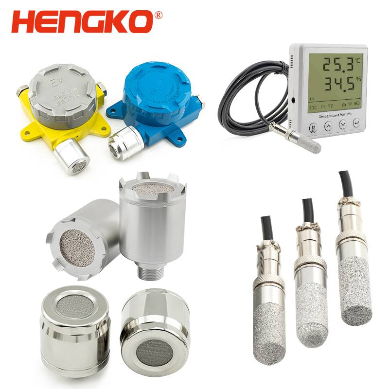 Porous sensor housing, IP 65 66 67 waterproof flameproof temperature and humidity electrochemical catalytic flammable gas leak sensor detector alarm probe housing