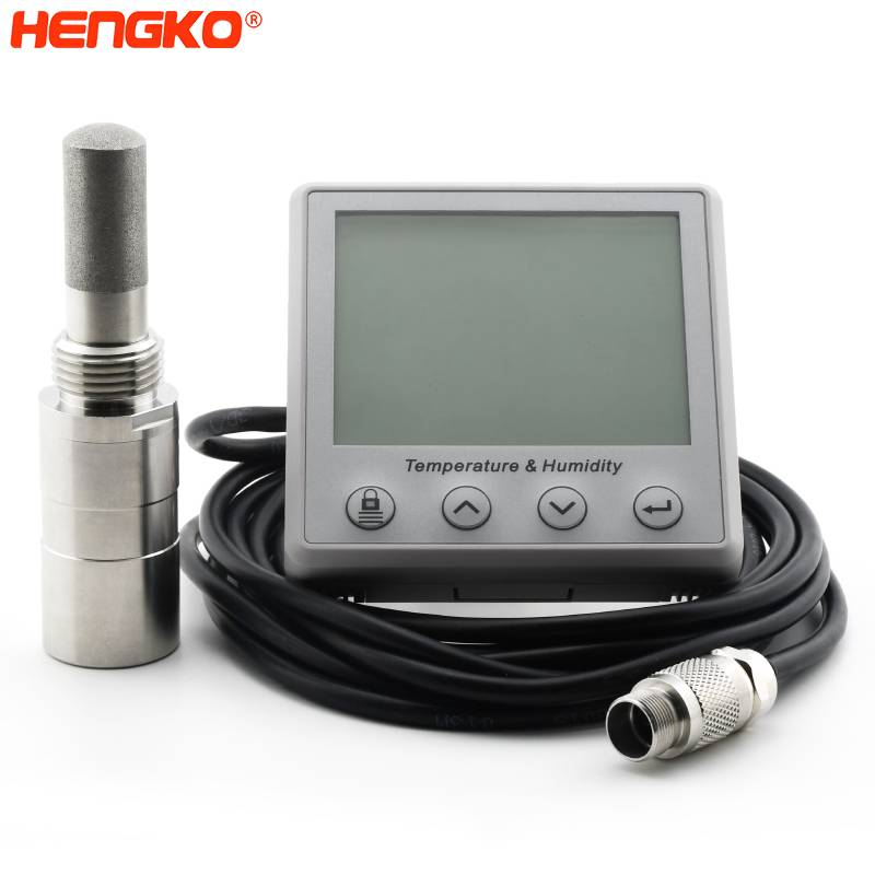 HENGKO's Smart Humidity and temperature, dew point, soil moisture sensor with stand-alone humidity probes Featured Image