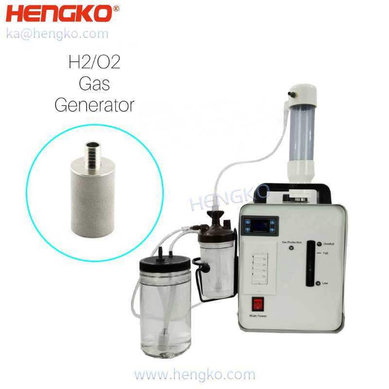 HENGKO .5 2um sintered stainless steel 316/316L air aeration bubble diffusers stone for HydrOxy for Health machine Featured Image