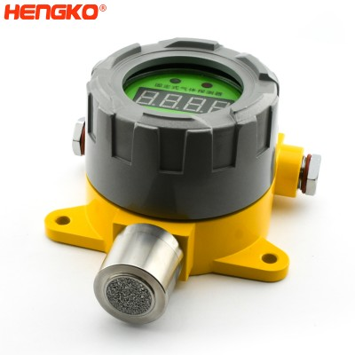 Analog and digital outputs point type flammable explosion proof carbon gas hydrogen sulfide sensor detector