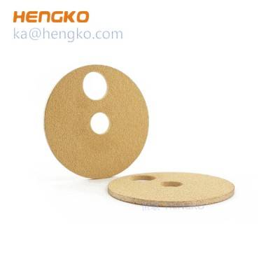 Custom 35 50 microns fuel filter sintered bronze replacement filter disc disk for heavy duty and industry