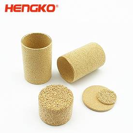 sintered brass bronze filter element