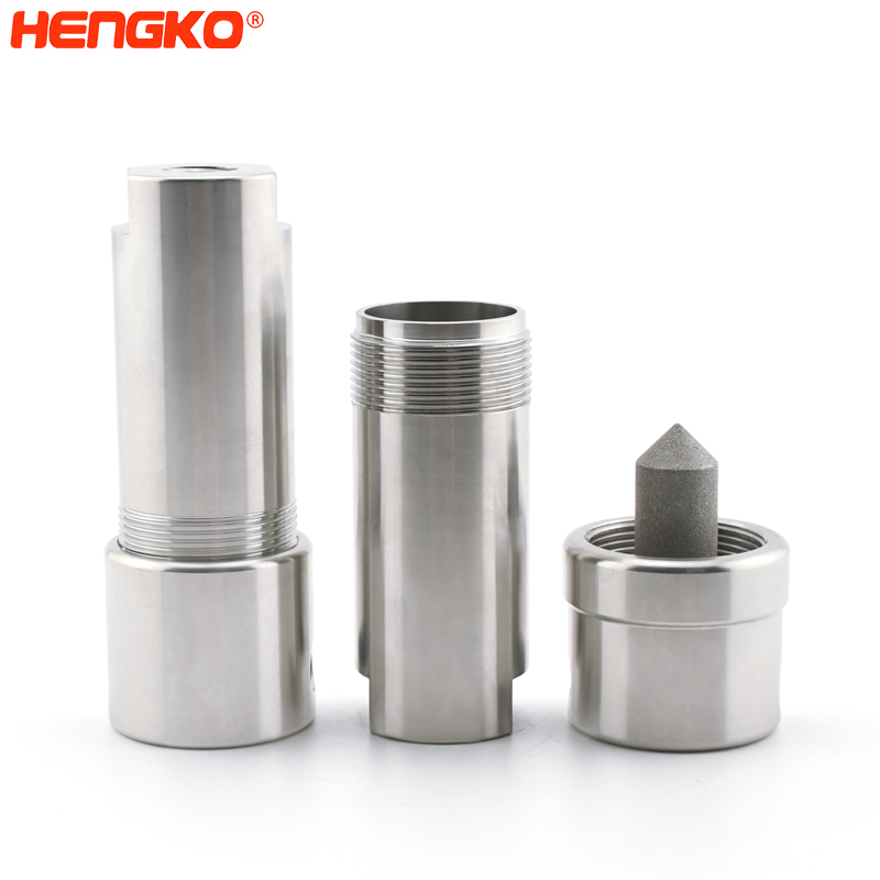 3 stage sterile stainless steel high pressure compressed air filters assemblies for food industry Featured Image